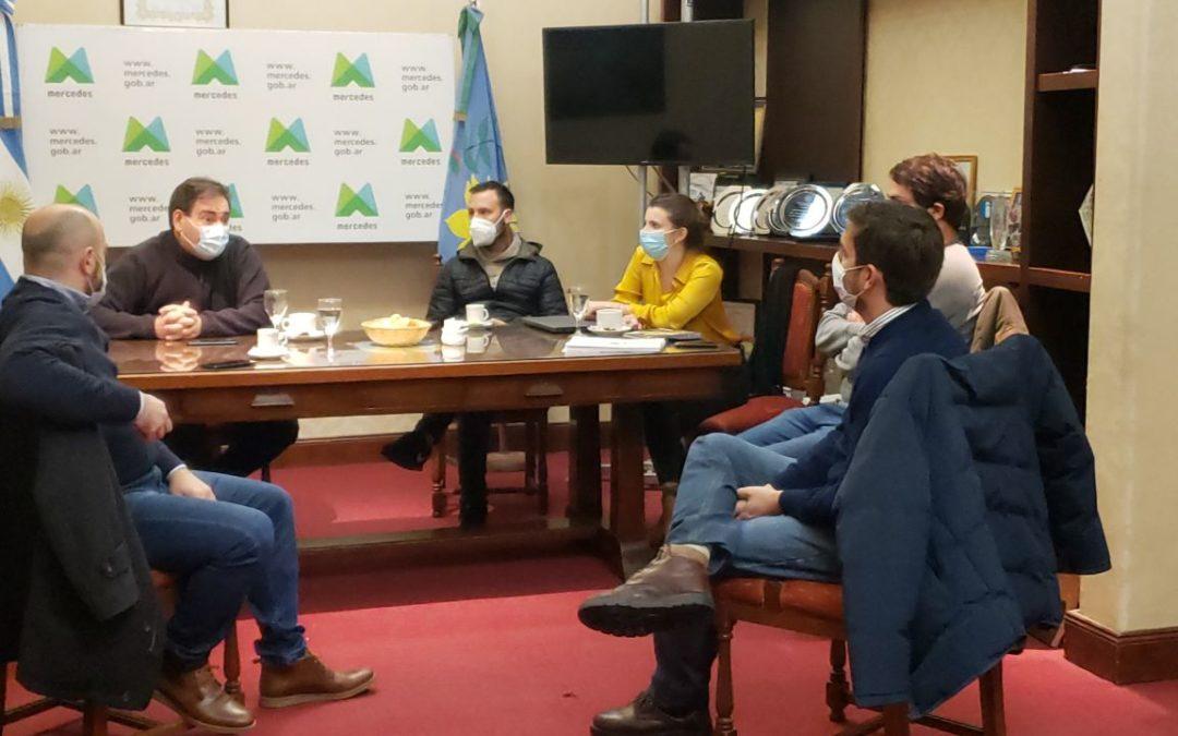 Reunión y trabajo conjunto entre el Municipio y el Ministerio de Seguridad de la Provincia