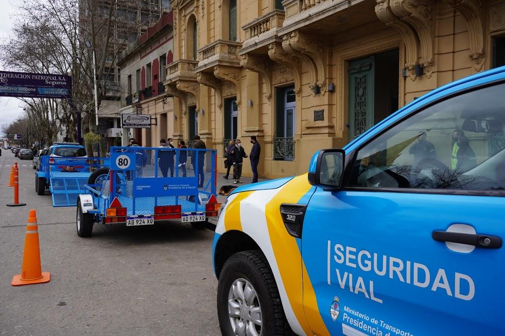 Municipio recibe importante aporte de la Agencia Nacional de Seguridad Vial